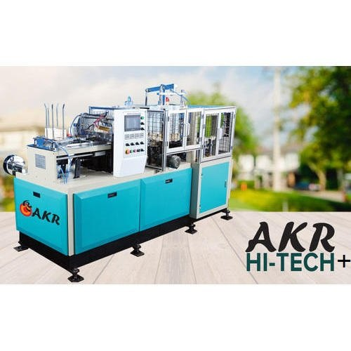 AKR HI-TECH +  - Automatic Paper Cup Forming Machine