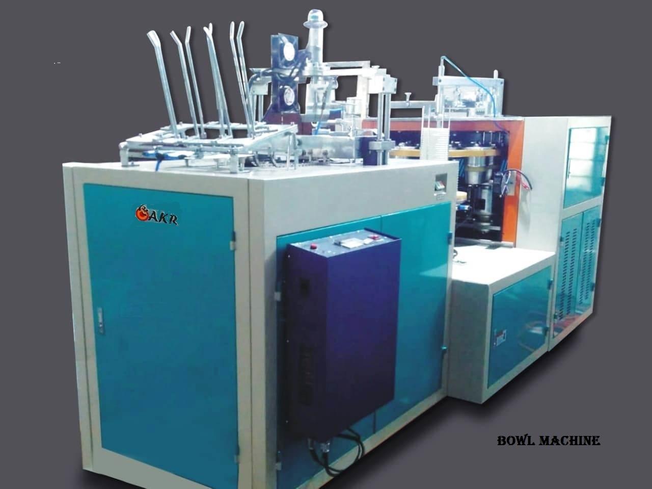 Paper Bowl Manufacturing Machine