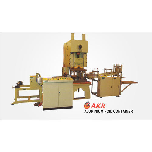 AKR Aluminium Foil Container Machine