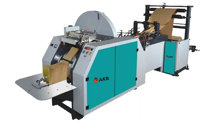 AKR PAPER BAG MAKING MACHINE